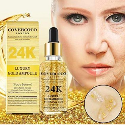 Covercoco 24K Luxury Gold Ampoule Face Serum. RP-200