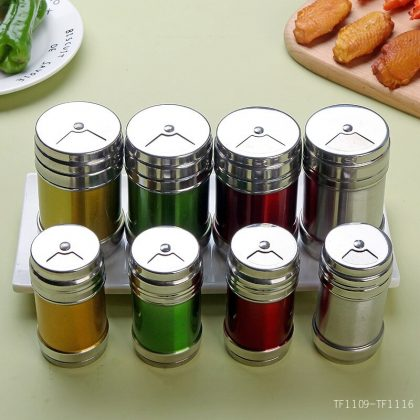 Stainless Steel seasoning cans For salt and Spice. RP-60