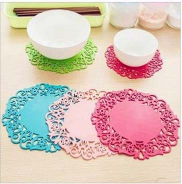 2 Pcs High Temperature Resistant Silicone Placemats. RP-50